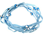 Evil Eye 11465 bracelet Lt. Blue with blue eyes
