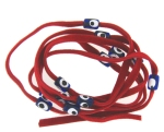 Evil Eye 11465 bracelet Red with blue eyes