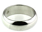 sterling silver band ring 39AA085