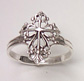 sterling silver cross ring 41AT183