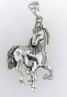 sterling silver horse pendant 42184