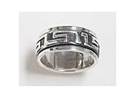 sterling silver spinner rings 45AT376