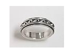 sterling silver spinner rings 45AT386