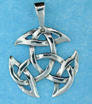 model  767-64 celtic pendant enlarged view