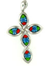 sterling silver cross pendant 8AP498
