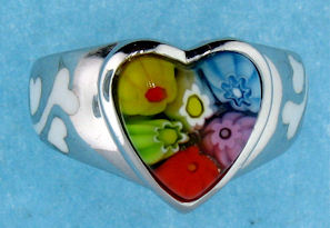 8ar103 heart ring