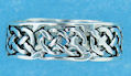 sterling silver celtic design ring A135