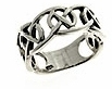 sterling silver celtic design ring A311