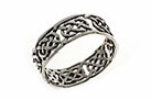 sterling silver celtic design ring A359