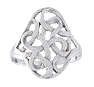 sterling silver celtic design ring A373
