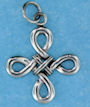 Sterling silver Celtic pendant style A4122