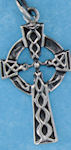 Sterling silver Celtic pendant style A4178