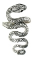 sterling silver snake ring style A654