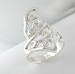 sterling silver celtic design ring A70615