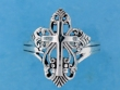 sterling silver cross ring A706-2205