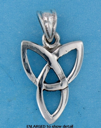 model a767-63 celtic pendant enlarged view