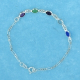 sterling silver anklet AASS1011