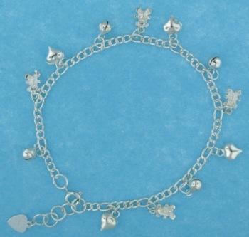 sterling silver anklet AASS1318