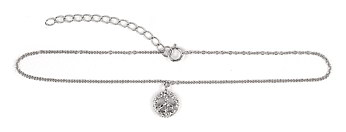 sterling silver anklet AAZ024