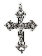 sterling silver cross pendant ABC1023