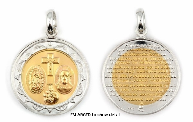 ENLARGED view of ABC1033 pendant