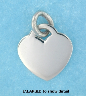 model ABC516 heart pendant enlarged view