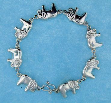 Sterling Silver Bracelet Abca0061