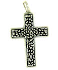 sterling silver cross pendant ABCP1051