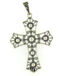 sterling silver cross pendant ABCP1065