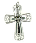 sterling silver cross pendant ABCP1095