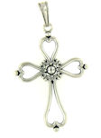 sterling silver cross pendant ABCP1105