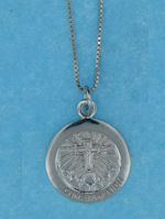 sterling silver religious confirmation necklace