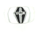 sterling silver cross ring ACR0944