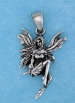 sterling silver fairy pendant AFS0003