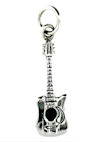 sterling silver electric guitar pendant AGP7063606