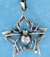 Model AGP706604 Gothic pendant with spider star