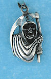 Model AGP76890 Gothic pendant with grim reaper sickle
