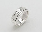 sterling silver spinner rings AR0022