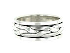 sterling silver spinner rings AR0044