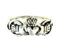 sterling silver claddagh rings AR767-79