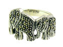 sterling silver elephant ring AR782-16
