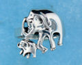 sterling silver elephant ring ARP0013