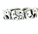 sterling silver elephant ring ARP0017