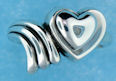 sterling silver heart ring ARP0872