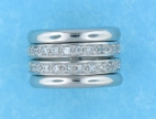 sterling silver spinner ring style ARW620