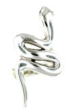 sterling silver snake ring style ASNR1610