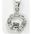 Silver Claddagh Pendants