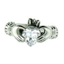 sterling silver claddagh rings CLR1003 April