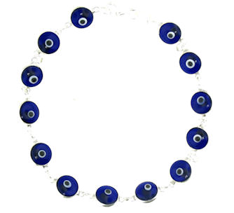 Evil Eye Bracelet EEB715 Blue
