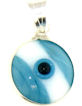 Evil Eye Greek Pendant EEC002FLAG